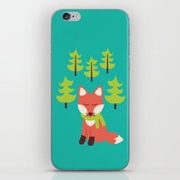 Forest Fox iPhone & iPod Skin