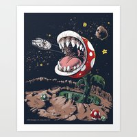 The Plumber Strikes Back Art Print