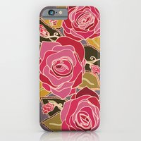 iPhone & iPod Case featuring With The Roses by Raquel Serene