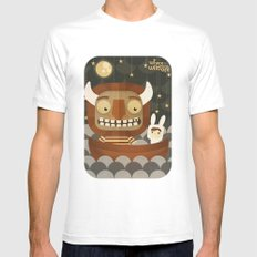 Where the wild things are fan art White Mens Fitted Tee SMALL