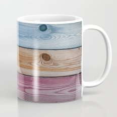Wooden Rainbow Mug