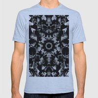 Crystal Skull Mens Fitted Tee Athletic Blue SMALL