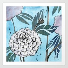 Flowers for you #1 Art Print