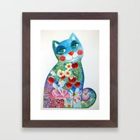 Magic Cat Framed Art Print