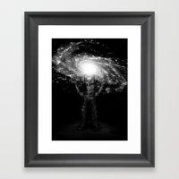 Mr. Galaxy Framed Art Print