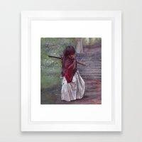 Himura Kenshin Framed Art Print