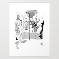 The Long Ride Art Print
