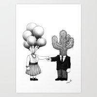 Soul Mates (2013) Art Print