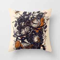 Natural Mystic Throw Pillow