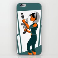 Spacewoman iPhone & iPod Skin