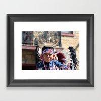 Pow Wow Framed Art Print