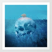 Save the Arctic Art Print
