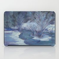 Bear Creek Winter iPad Case