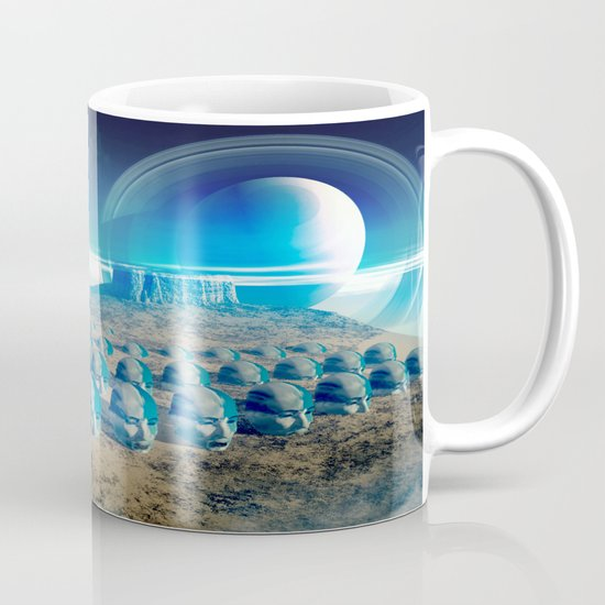 yellow desert Mug