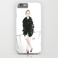 Stella - Cool Downtown Girl in Marker and Gouache iPhone 6 Slim Case
