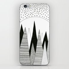 Moonlight Forest (pen on paper) iPhone & iPod Skin