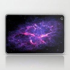 Pink Purple Crab Nebula Laptop & iPad Skin