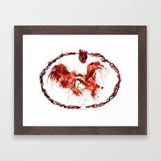 Sanguine Framed Art Print