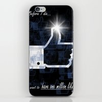 I want to have one million likes iPhone & iPod Skin