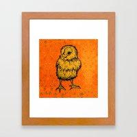 EASTER Greetings Framed Art Print