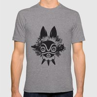 MONONOKE Mens Fitted Tee Athletic Grey SMALL