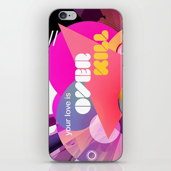 Overkill iPhone & iPod Skin