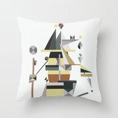 losing balance Throw Pillow
