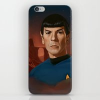 Mr. Spock iPhone & iPod Skin