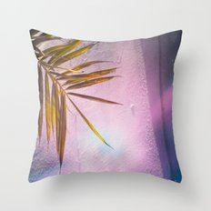 PinkPalm Throw Pillow