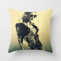 Beauty Echoes Throw Pillow