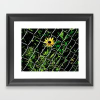 You Can't Help Her Framed Art Print