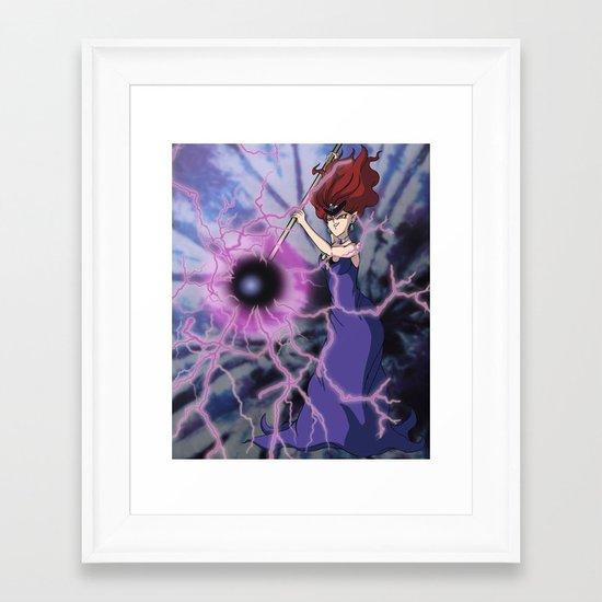 Queen Beryl Framed Art Print