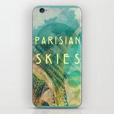 Songs and Cities: Parisian Skies iPhone & iPod Skin