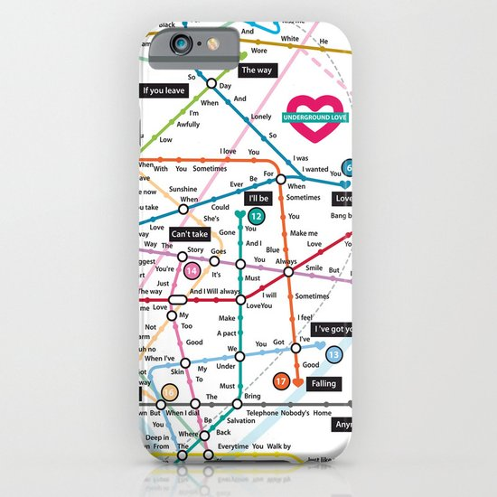 Love Map iPhone & iPod Case