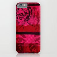 iPhone & iPod Case featuring Pink Ladies by Lil Tuffy