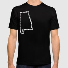 Ride Statewide - Alabama SMALL Black Mens Fitted Tee