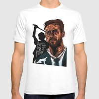 Only God Forgives Mens Fitted Tee White SMALL
