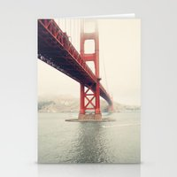 san francisco Stationery Cards featuring San Francisco  by Bree Madden