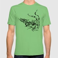 Dragon Mens Fitted Tee Grass SMALL
