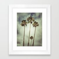 Tropic Storm Framed Art Print