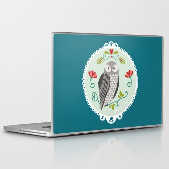 Piccola Damigella Gufo Laptop & iPad Skin
