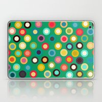 Green Pop Spot Laptop & iPad Skin