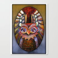 Hoot-Hoot Canvas Print