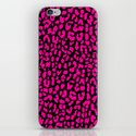 Pink Black Leopard iPhone & iPod Skin