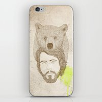 Mr.bear-d iPhone & iPod Skin