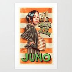 Juno MacGuff - Juno Art Print