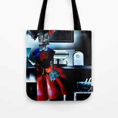 collage love :at the bar Tote Bag