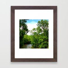 Kayak Framed Art Print