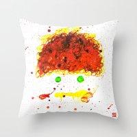 Monster Series=En__Wou Throw Pillow