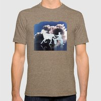 Chariots Of Fire Mens Fitted Tee Tri-Coffee SMALL
